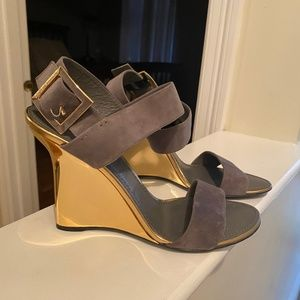Louis Vuitton Wedge Sandals